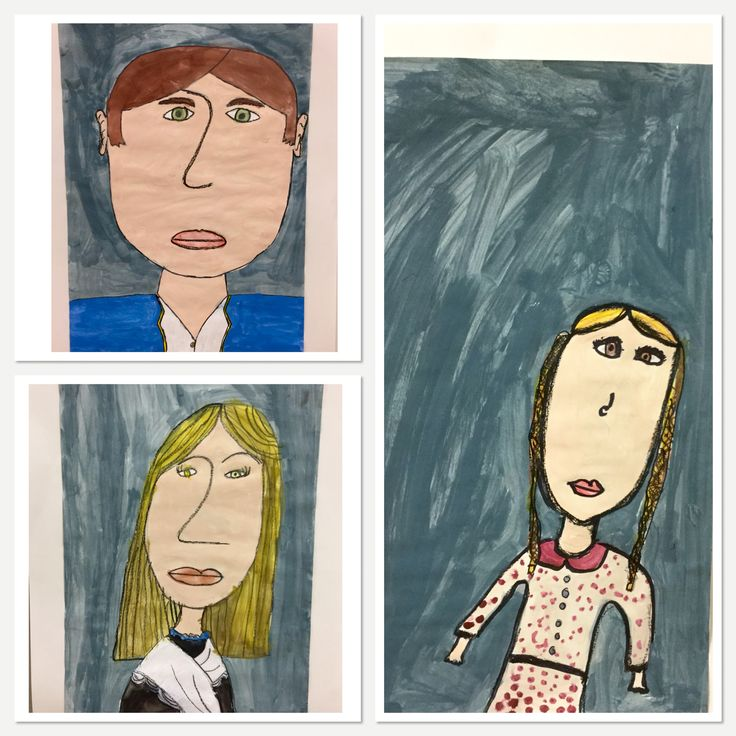 Tim Campbell Art-Fourth Grade does self-portraits for Patriots' Day-http://2soulsisters.blogspot.com/2015/11/tim-campbell-self-portraits-for.html