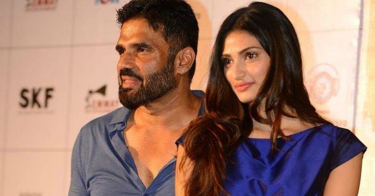 Having gone through his share of struggles for being an outsider actor Suniel Shetty empathises with the budding talent trying to make it big in the industry without the surnames supporting them. In October 2016 he opened an online portal that offers jobs to aspiring artistes from actors and dancers to writers and directors. A year before that his daughter Athiya Shetty debuted as an actor in good friendSalman Khans production.  Suniel however sees no conflict. I am someone who treats…