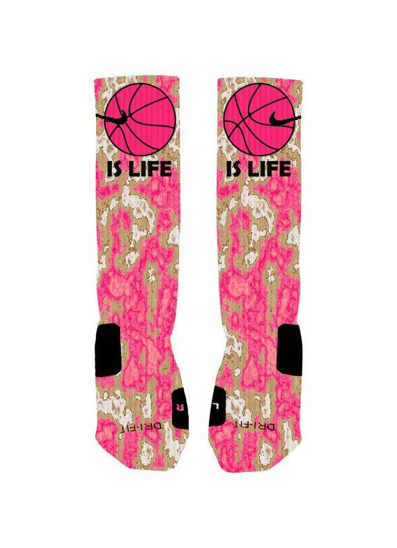 Basketball Custom Nike Elites Socks Basketball by NikkisNameGifts