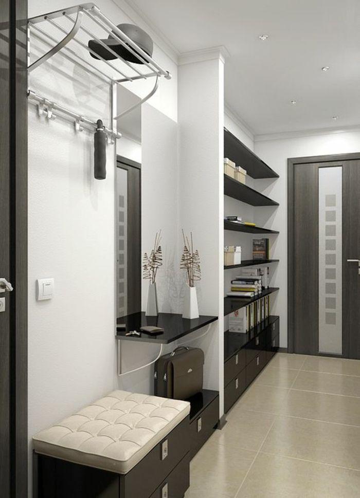les 226 meilleures images du tableau entr e et couloir sur pinterest couloir entr e maison et. Black Bedroom Furniture Sets. Home Design Ideas