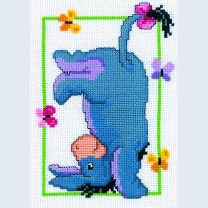 Free Disney Cross Stitch Patterns | ... Handwerken :: Breigarens - Eeyore - counted cross-stitch kit Vervaco