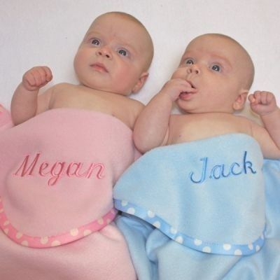Personalised Baby Blanket. £29.99 Choose from pink, white, blue or yellow. #BabyBlanket #Blanket #PersonalisedGifts #BabyGifts #Newborn #NewBaby #Blanket #PersonalisedBabyGifts