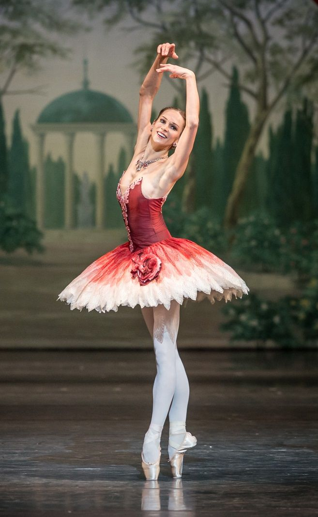 Polina Semionova in The Nutcracker by John Neumeier at Bayerische Staatsopera. Photo by Jack Devant