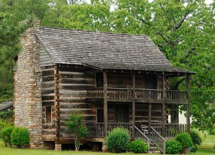 2 Story Log Cabin Homes Bing Images Country Cabins