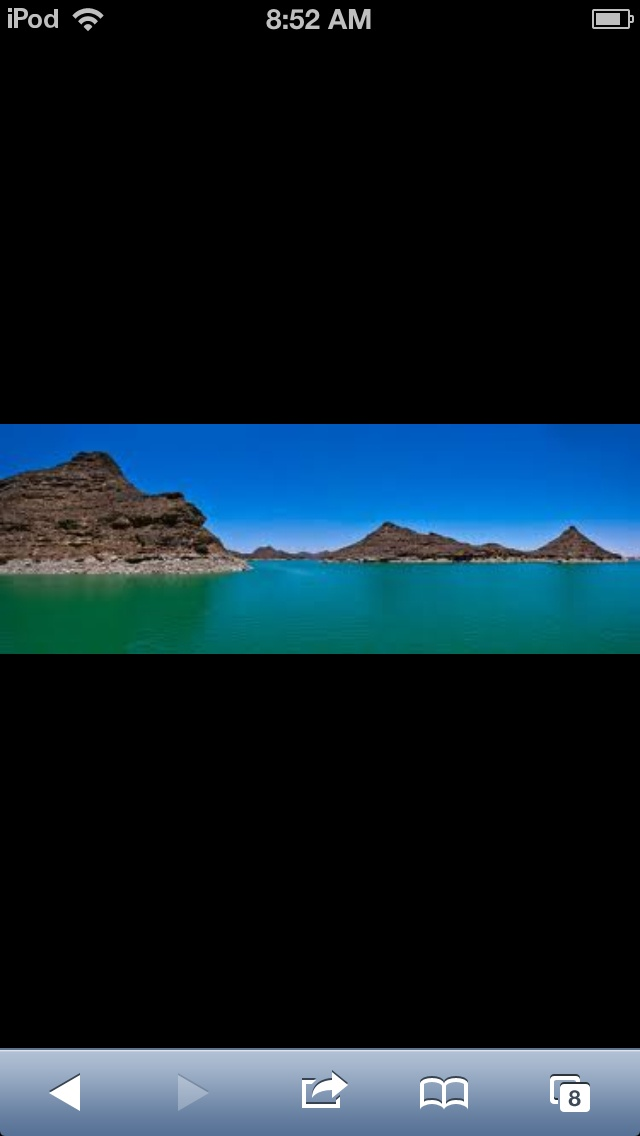 This is Nasser Lake, in Northern Sudan