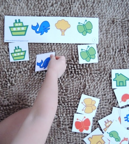 free printable matching game for toddlers - Free Coloring Games For Toddlers