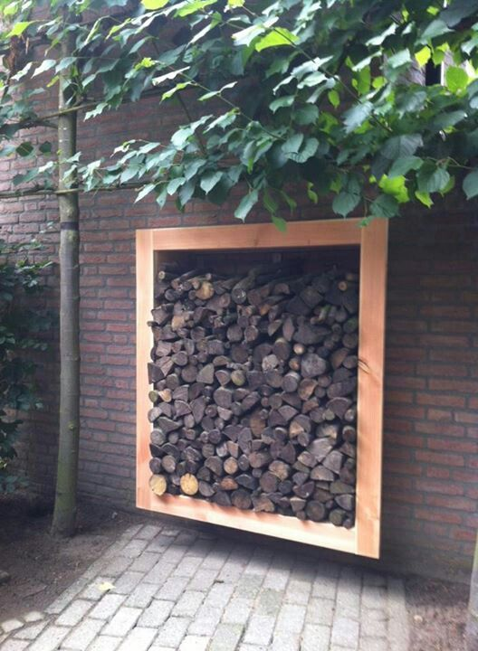 22 best houthok images on Pinterest Firewood storage, Outdoor