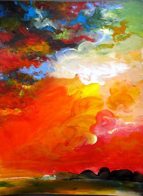 Liliana Soja, Sunset 2015 on ArtStack #liliana-soja #art