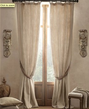 mooie linnen gordijnen voor in woonkamer