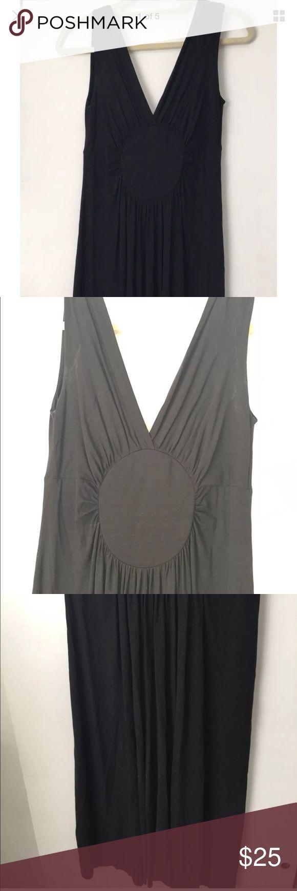 Tufi Duek Black  V Neck Stretch Dress Size Medium Tufi Duek Black  V Neck Stretch Dress Size Medium tufi duek Dresses