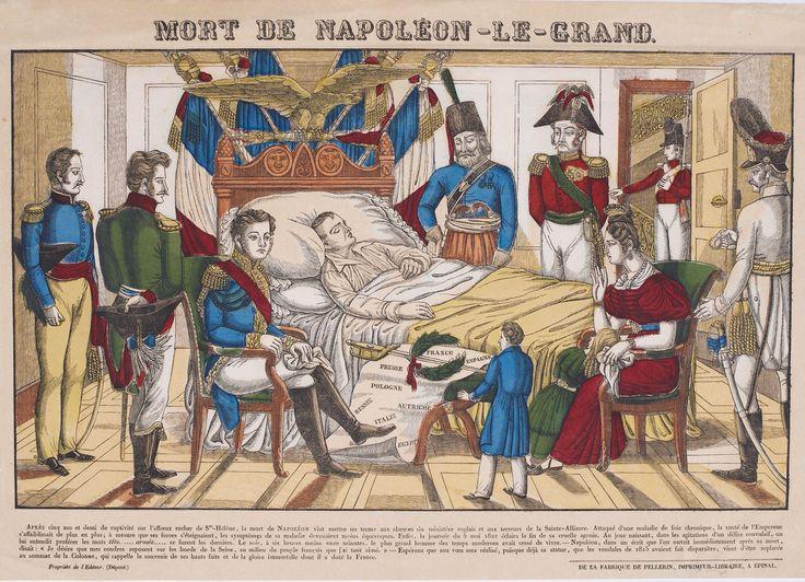 ⌛️ 5 mai 1821 : mort de Napoléon Ier sur l'île de Sainte-Hélène.