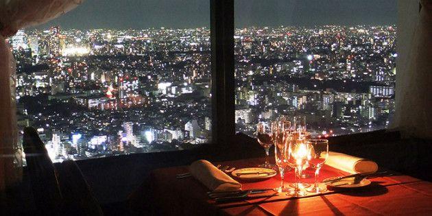世界に誇る東京の摩天楼!大都会の夜景を満喫できる「超高層レストラン」おすすめ6選