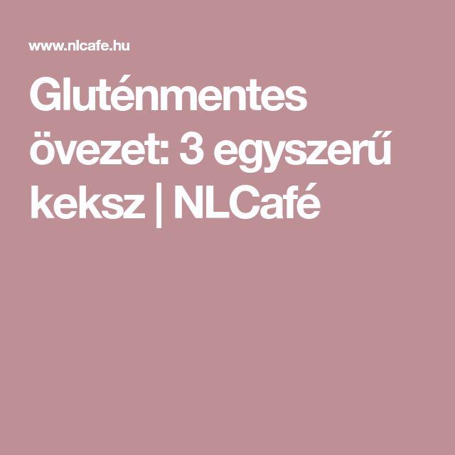 Gluténmentes övezet: 3 egyszerű keksz | NLCafé