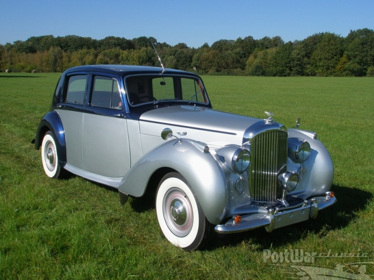 1948 Bentley Mk VI  Saloon.   I was lucky enough to be given  a clapped out version of this car by my father in law in 1962.  Four and a half litres of pure power and bald tyres to keep his daughter safe!  We drove to France in 1965 with roof rack drop side cot and about half a ton of hardboard to paint pictures in the middle of France.  Punctured at Abeville on the way out eventually proceeded and got home to London safely with new paintings plus baby.