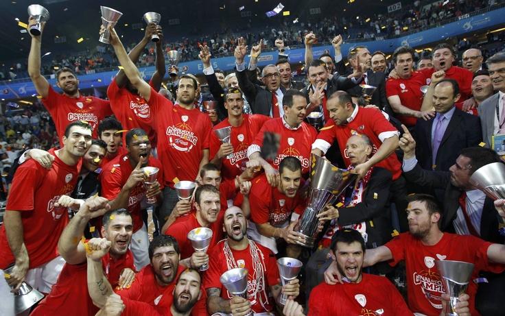 Olympiakos Euroleague Champions 2012