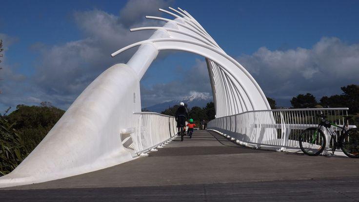 https://flic.kr/p/LF36nE | Te Rewa Rewa Bridge | From North