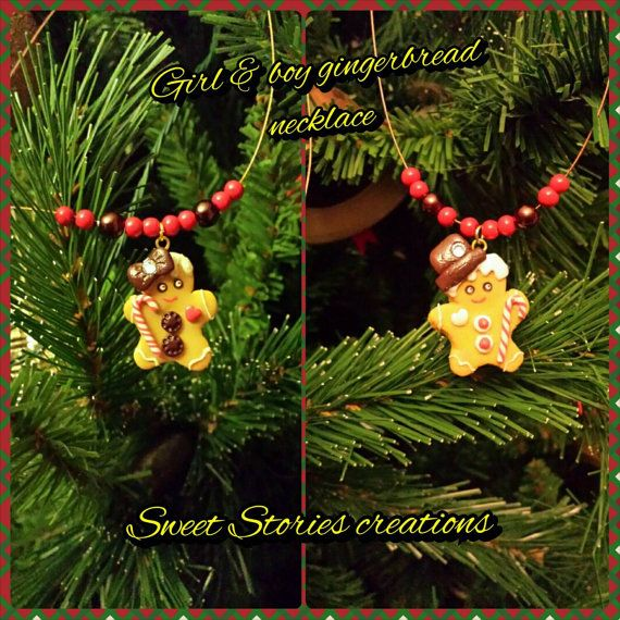 Check out this item in my Etsy shop https://www.etsy.com/listing/212735379/girl-and-boy-gingerbread-necklace