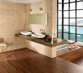 bad holzfliesen google suche bad bathroom pinterest. Black Bedroom Furniture Sets. Home Design Ideas