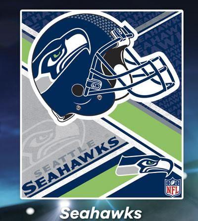 Cobertor Ligero NFL Seahawks