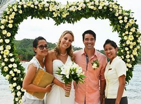Phangan Marriage - Melanie & Steffen http://blisseventthailand.com/gallery_wedding.html