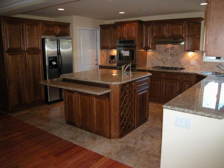 29 best images about home kitchen center island ideas on for Center kitchen island ideas