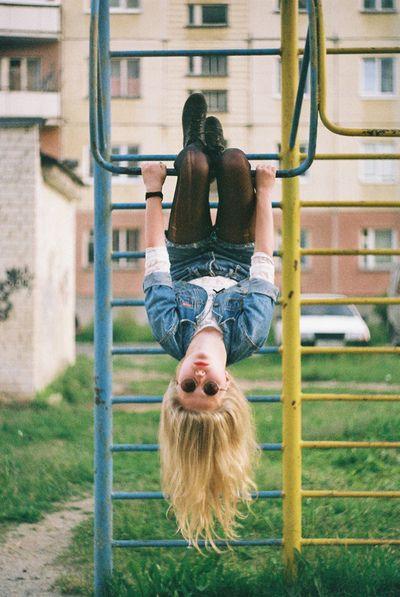 M'en fiche! Je vois la vie à l'envers et c plus rigolo !😜