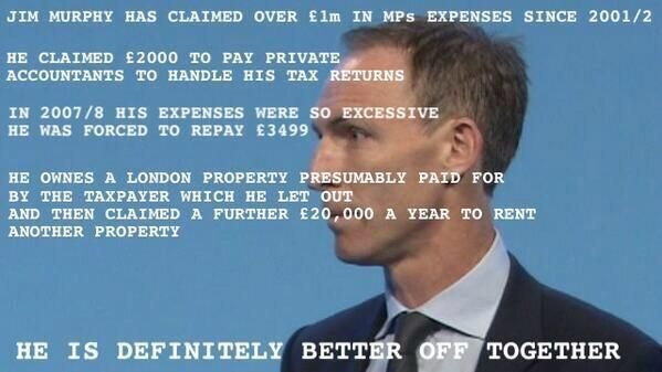 Jim Murphy will be in Gairloch & Inverness  Wed 6th next week On his soapbox but not telling us about his expenses Aw pic.twitter.com/qfOBL6RJ52