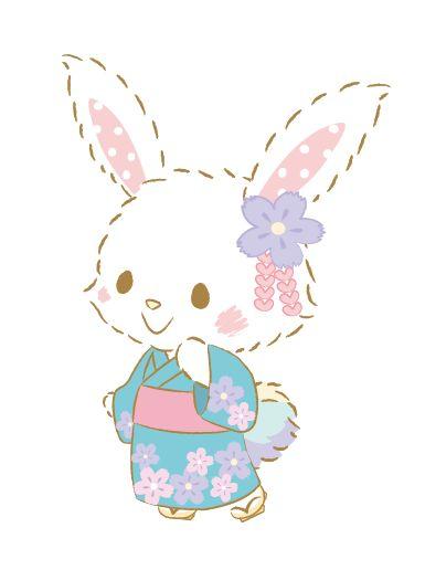 Cute Rabbit Wallpaper Pin By Nadine On Bunnies Hello Kitty Wallpaper Hello