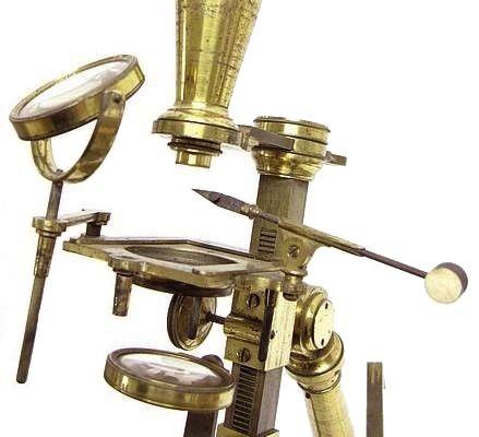 Most Improved model microscope Bate London, c. 1825