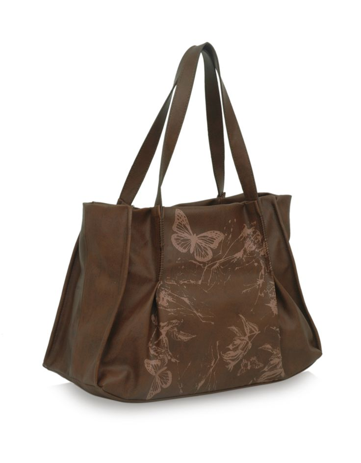 Soar Moly rust: A rust toned nature inspired bag by Baggit.