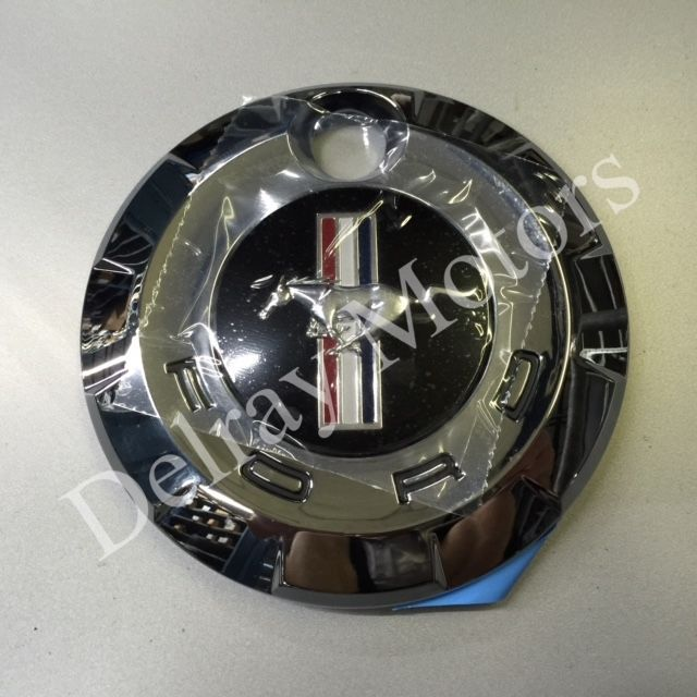 This part fits 2005-2009 Ford Mustang V6 Only. Rear truck deck lid gas cap chrome. We only sell GENUINE FORD Parts & Accessories. We Are Delray Lincoln Mercury: We are #1 in the Nation Ford Parts. | eBay!