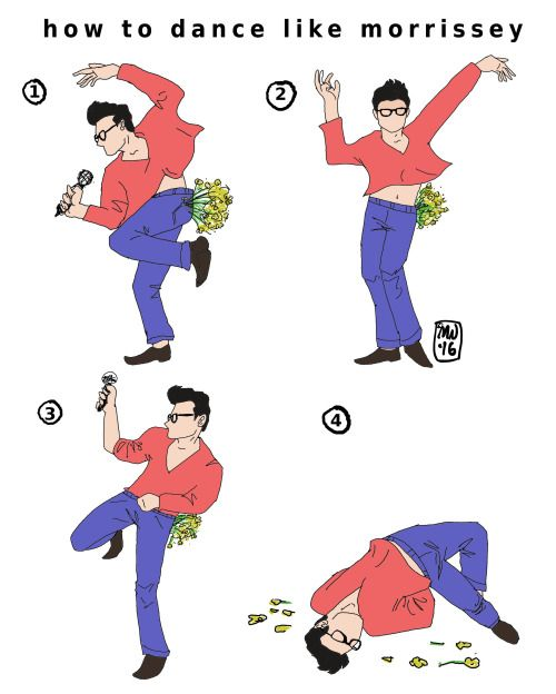 How to dance like Morrissey!