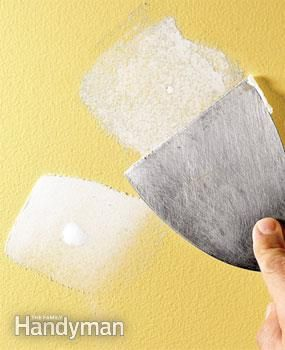 Preparing Walls for Painting: Problem Walls | The Family Handyman