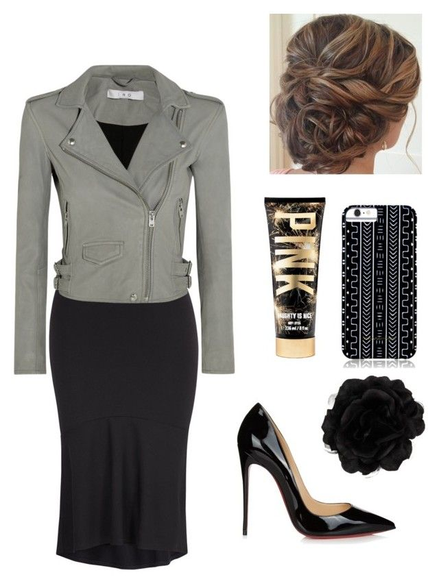 """""""Untitled #50"""" by apostolic4143 on Polyvore featuring Melissa McCarthy Seven7, IRO, Christian Louboutin, Savannah Hayes, Other and plus size clothing"""