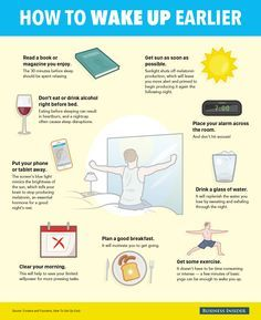 How To Wake Up Early! 9 Easy Tips For Waking Up Earlier And More Refreshed http://uk.businessinsider.com/how-to-get-up-early-2015-1