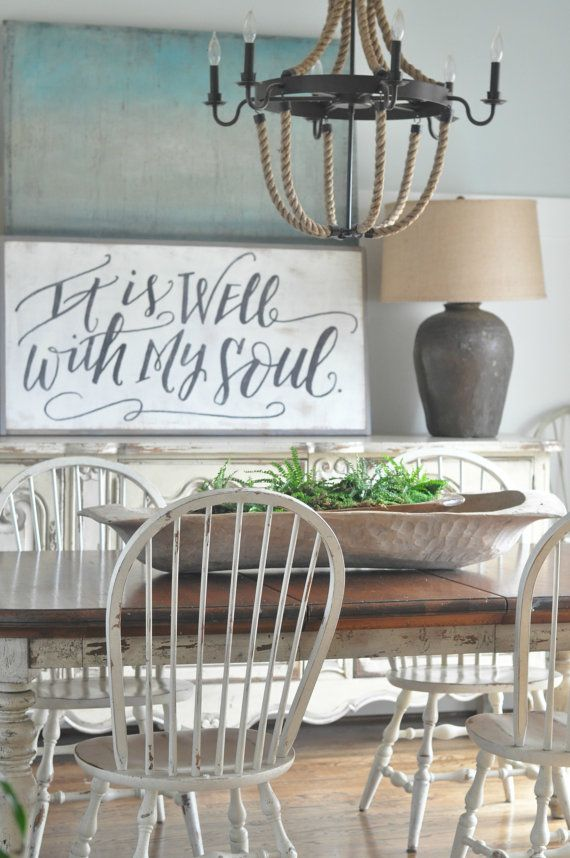 It is well with my soul 4x2 by BetweenYouAndMeSigns on Etsy