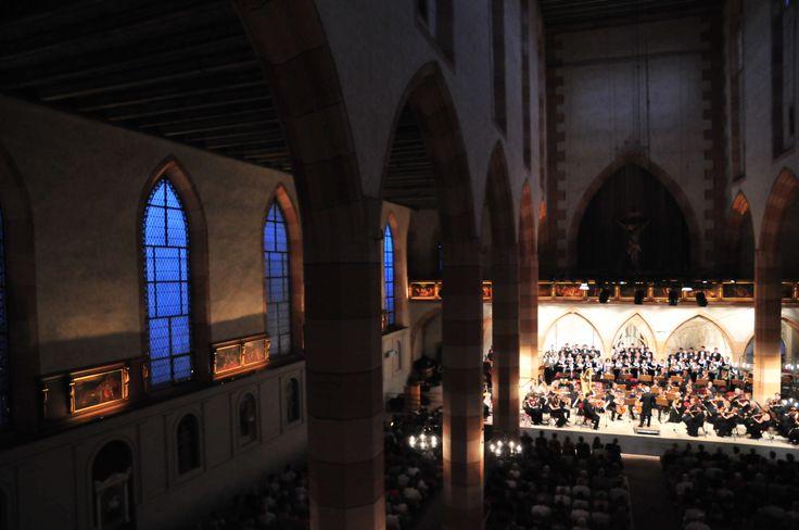 Concert à 21h00 à L'Eglise Saint Matthieu - Le Festival international de Colmar (www.festival-colmar.com) - B. Fruhinsholz