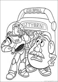 Toy Story Coloring Pages 114
