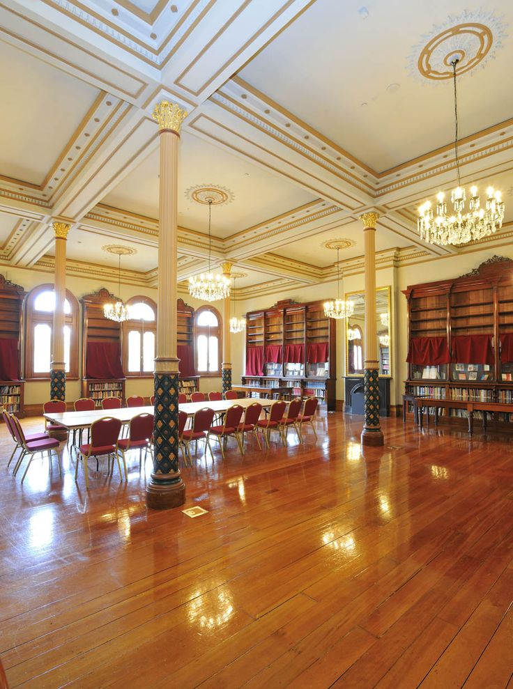 The Reading Room at Fitzroy Town Hall - Venue Hire