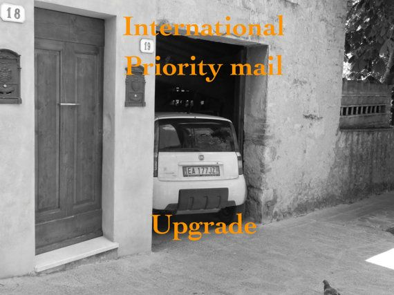 International shipping upgrade / Priority Mail with tracking for Darby Mack Designs