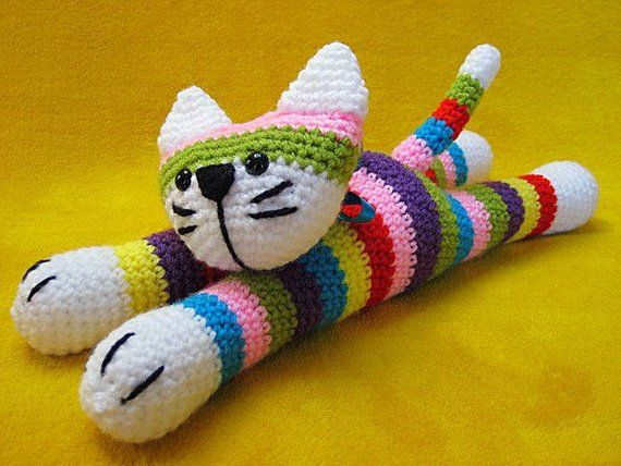 Free Cat Crochet Pattern - Red Ted Art - Make crafting with kids ... | 428x570