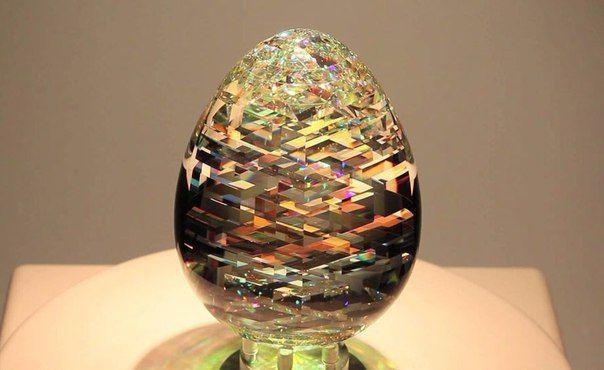 Optical Glass Sculptures. Jack Storms, California