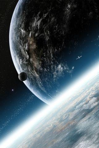 картинки на телефон андроид космос