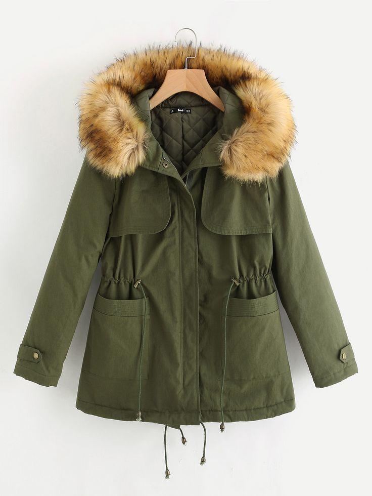 Best 25  Hooded parka ideas on Pinterest   Winter parka, Fur ...