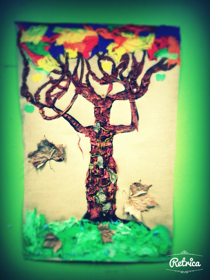 Me tree - art therapy