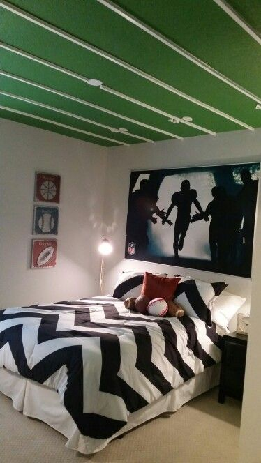 Football Themed Room Rooms