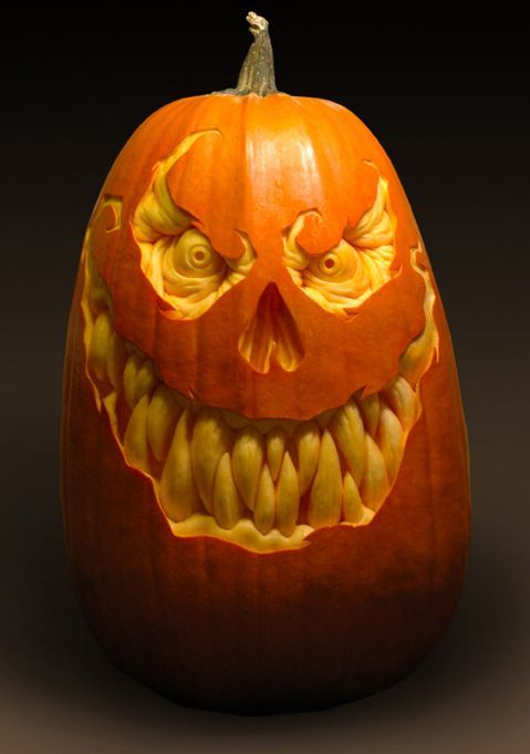 Scary Halloween Pumpkin Carvings | Scary Halloween Pumpkin Carvings by Ray…