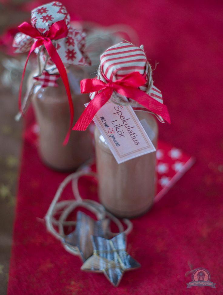Weihnachtliche Liköre - Engelchen trifft auf Spekulatius
