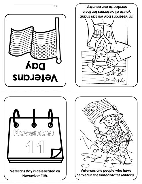 Veterans Day Freebies!  Foldable Veterans Day Book