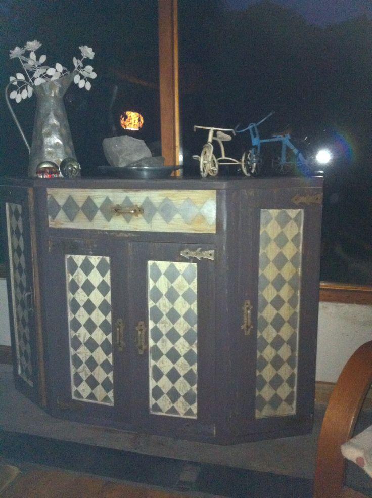 Renovar un mueble de madera viejo